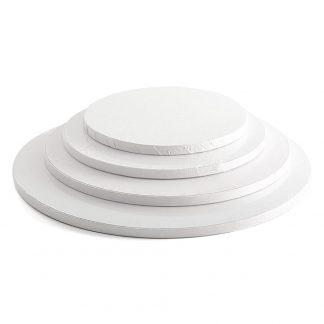 Weiße Tortenplatten